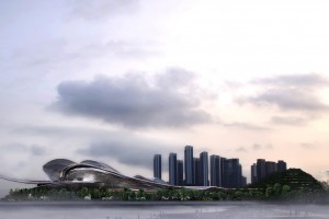 Jean Nouvel Wins International Competition to Design Shenzhen's Opera House